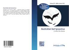 Bookcover of Australian bat lyssavirus