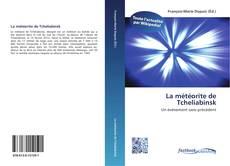 La météorite de Tcheliabinsk kitap kapağı
