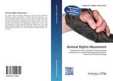 Capa do livro de Animal Rights Movement