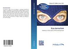 Bookcover of Eco-terrorism
