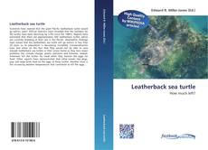 Buchcover von Leatherback sea turtle