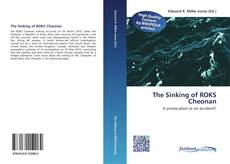 The Sinking of ROKS Cheonan kitap kapağı