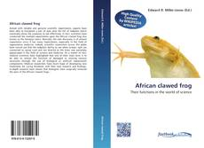 Bookcover of African clawed frog