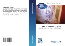 The economy of India kitap kapağı