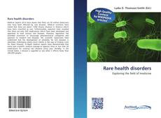 Rare health disorders kitap kapağı
