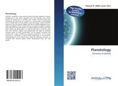 Planetology kitap kapağı