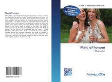 Maid of honour kitap kapağı