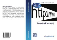 Opera (web browser) kitap kapağı