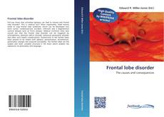 Couverture de Frontal lobe disorder