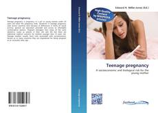 Teenage pregnancy kitap kapağı