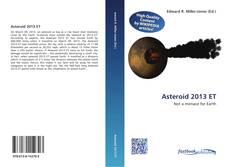 Portada del libro de Asteroid 2013 ET