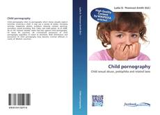 Buchcover von Child pornography