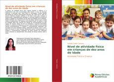 Capa do livro de Nível de atividade física em crianças de dez anos de idade