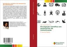 Capa do livro de Divulgação científica em assessorias de comunicação