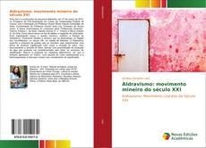 Capa do livro de Aldravismo: movimento mineiro do século XXI