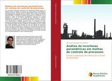 Capa do livro de Análise de incertezas paramétricas em malhas de controle de processos