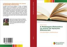 Capa do livro de A Modelagem Matemática no ensino de Equações Diferenciais