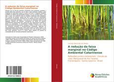 Bookcover of A redução da faixa marginal no Código Ambiental Catarinense