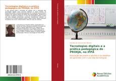 Capa do livro de Tecnologias digitais e a prática pedagógica do PROEJA, no IFPA