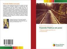 Fazenda Pública em juízo kitap kapağı