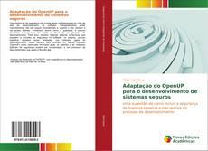 Capa do livro de Adaptação do OpenUP para o desenvolvimento de sistemas seguros