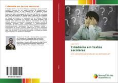 Capa do livro de Cidadania em textos escolares