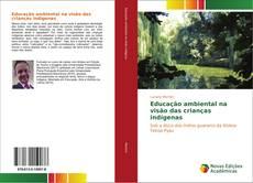 Capa do livro de Educação ambiental na visão das crianças indígenas