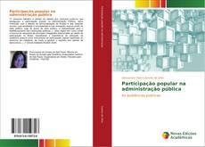 Buchcover von Participação popular na administração pública