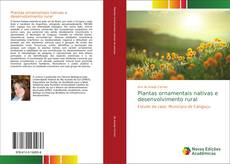 Portada del libro de Plantas ornamentais nativas e desenvolvimento rural