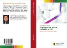Qualidade de vida e inclusão social kitap kapağı