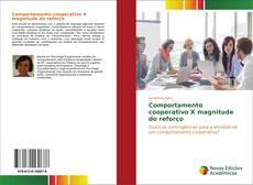 Capa do livro de Comportamento cooperativo X magnitude do reforço