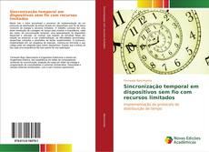 Capa do livro de Sincronização temporal em dispositivos sem fio com recursos limitados