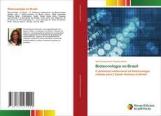 Biotecnologia no Brasil kitap kapağı