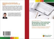 Capa do livro de Elementos e Ferramentas da Produção Enxuta em Canteiros de Obras