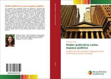 Capa do livro de Poder Judiciário como espaço público