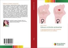 Capa do livro de Gênero e direito ambiental