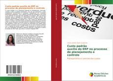 Bookcover of Custo padrão auxílio do ERP no processo de planejamento e controle