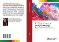 Buchcover von O modelo didático do gênero comentário jornalístico radiofônico