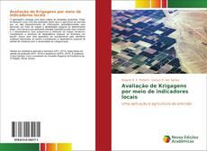 Capa do livro de Avaliação de Krigagens por meio de indicadores locais