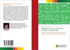 Bookcover of Álgebra nos Currículos do Ensino Fundamental