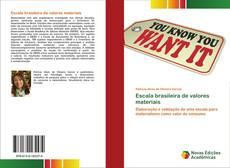 Couverture de Escala brasileira de valores materiais