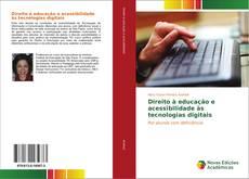 Capa do livro de Direito à educação e acessibilidade às tecnologias digitais