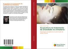 Capa do livro de Acupuntura no tratamento da ansiedade no climatério