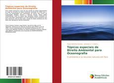 Capa do livro de Tópicos especiais de Direito Ambiental para Oceanografia