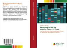 Capa do livro de Patenteamento de sequências genéticas