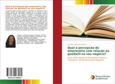 Capa do livro de Qual a percepção do empresário com relação ao goodwill no seu negócio?