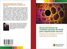 Capa do livro de Desenvolvimento de condutos porosos de PLGA para regeneração nervosa