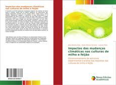 Buchcover von Impactos das mudanças climáticas nas culturas de milho e feijão