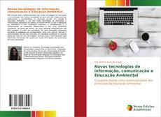 Capa do livro de Novas tecnologias de informação, comunicação e Educação Ambiental