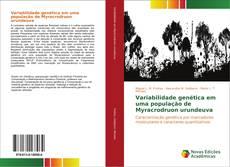 Обложка Variabilidade genética em uma população de Myracrodruon urundeuva